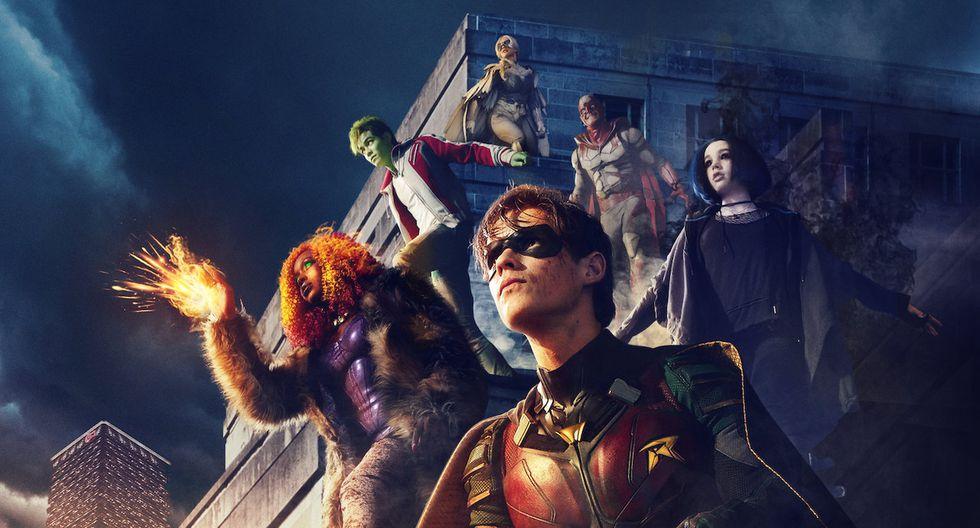 """El portal digital usó su cuenta de Facebook para comunicar fecha del estreno de la segunda temporada de """"Titans"""".  (Foto: DC)"""