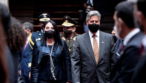 Elizabeth Astete fue canciller del gobierno de Francisco Sagasti hasta el 14 de febrero, cuando renunció tras reconocer su vacunación contra el coronavirus. (Foto:Reuters)