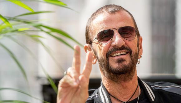 Ringo Starr fue condecorado por la reina Isabel II. (Foto: AFP/Chris J. Ratcliffe)