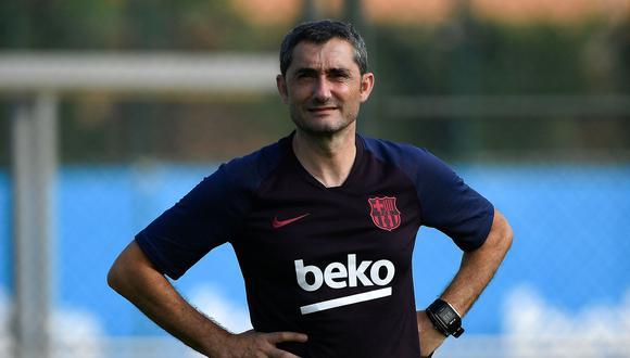 """Ernesto Valverde: """"Esperamos mucho de los tres fichajes""""   Foto: Agencias"""