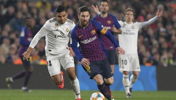 Barcelona y Real Madrid jugarán en 18 de diciembre en el Camp Nou. (Foto: AFP)