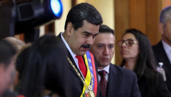 Nicolás Maduro es considerado como un presidente que no fue elegido de forma democrática y legítima. (Foto: EFE)