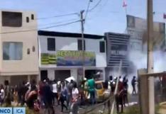 Ica: alumnos ingresantes de la Universidad San Luis Gonzaga protestan contra la Sunedu