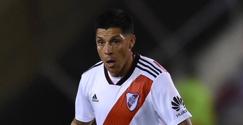 Enzo Pérez será el arquero de River Plate este miércoles ante Santa Fe. (Foto: AFP)