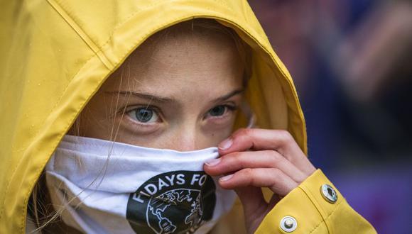 """""""Greta: el futuro es hoy"""" tendrá estreno en National Geographic. (Foto de Jonathan NACKSTRAND / AFP)."""