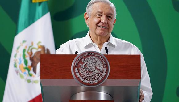 El presidente de México Andrés Manuel López Obrador. (Foto: EFE).