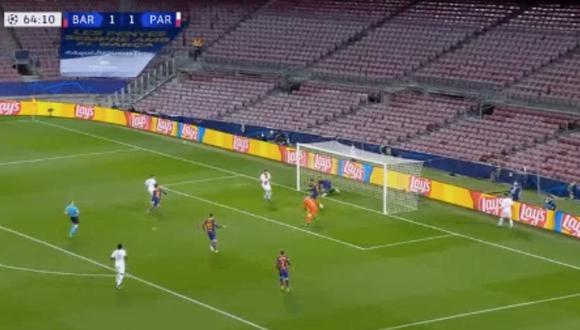 Gol de Mbappé: el ariete del PSG y el 2-1 que fue convalidado por el VAR   VIDEO