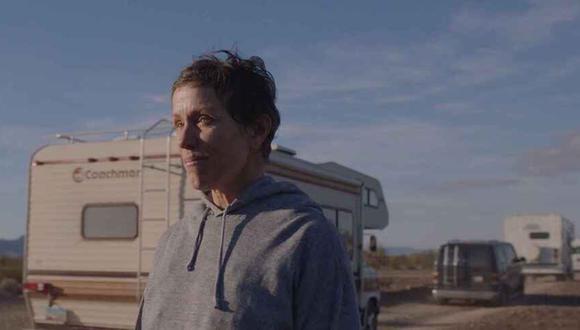 'Nomadland' es una de las candidatas para ser de las películas más ganadoras de los Oscar 2021.  (Foto: Searchlight Pictures)