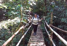 """""""La actividad minera ilegal es una amenaza latente para el Parque Nacional Alto Purús"""": Eliabett Ayrampo, guardaparque en Perú"""