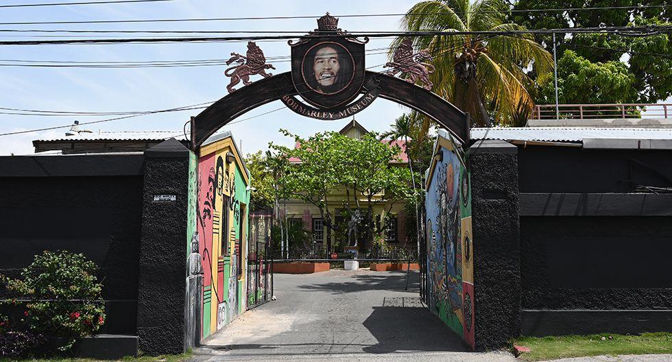 Ingreso al Museo Bob Marley en Kingston. (Foto: AFP)