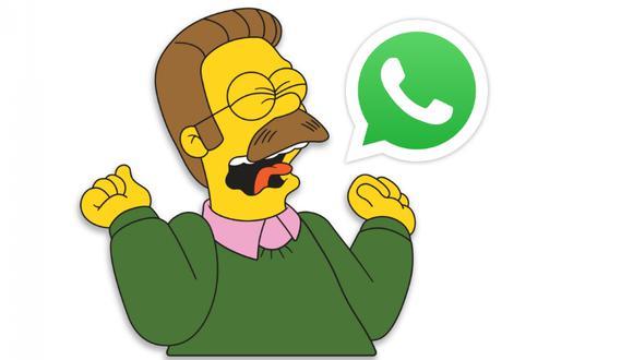 """Conoce el método para activar el """"modo zurdo"""" en WhatsApp ahora mismo. (Foto: The Simpsons)"""