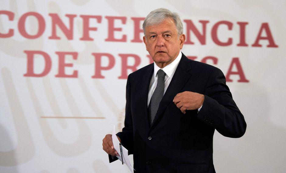 """AMLO declaró el """"punto y final"""" a la corrupción en México, aunque anunció que desde el Gobierno no impulsará investigaciones contra sus predecesores en el cargo. (Foto: AFP)."""