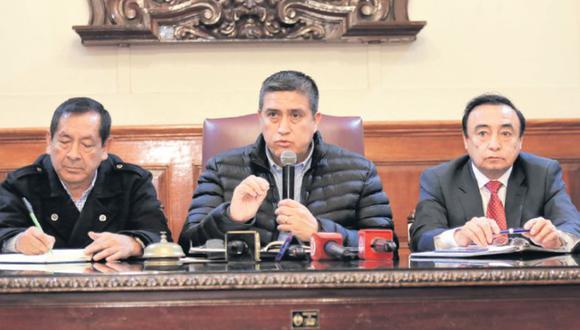 Harry Castro solicitará a la contraloría que realice una auditoría en La Victoria. (Alonso Chero / El Comercio)