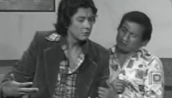 Adolfo Chuiman en 'Risas y Salsa'. (Captura de pantalla)