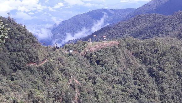 Las comunidades de la frontera de Perú - Ecuador alertaron la presencia de mineros ilegales.