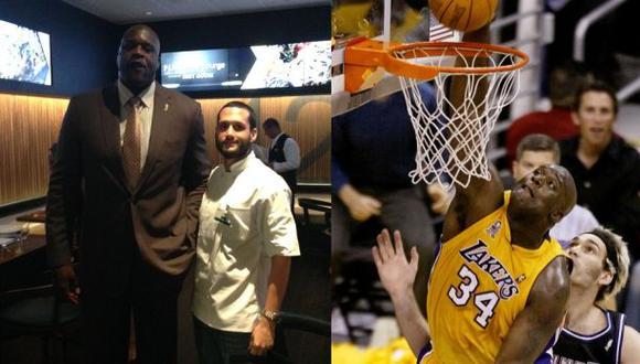 Shaquille O'Neal probó cocina peruana en las finales de la NBA