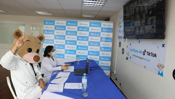 Pacientes de la tercera edad de EsSalud fueron protagonistas de divertido concurso de Tik Tok | VIDEO (Foto: EsSalud)