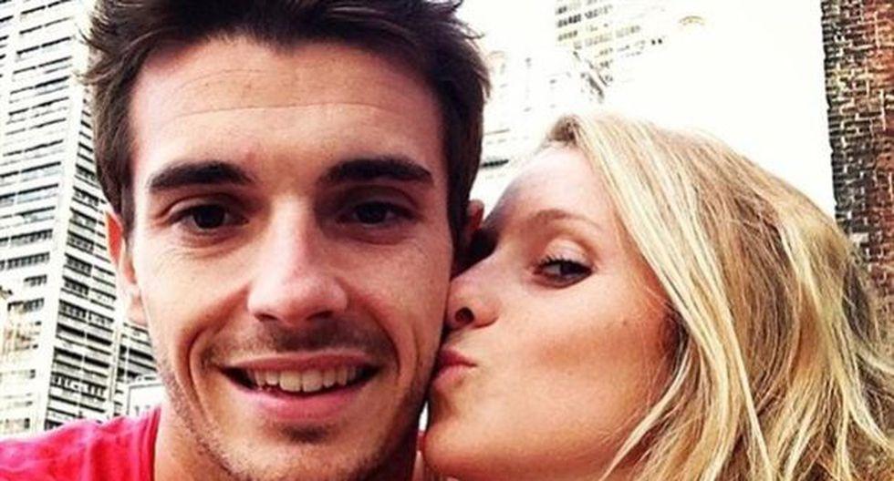 """Novia de Jules Bianchi, piloto accidentado: """"Sé fuerte mi amor"""""""