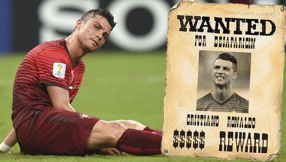 Se busca a Cristiano Ronaldo