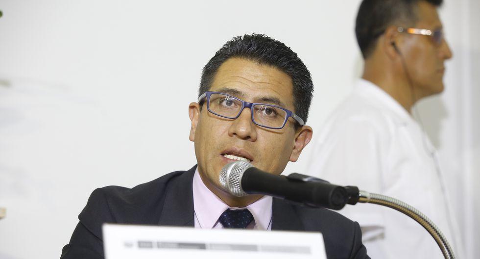 El procurador Amado Enco confirmó que se presentó la denuncia a la fiscal de la Nación, Zoraida Ávalos. (Foto: GEC)