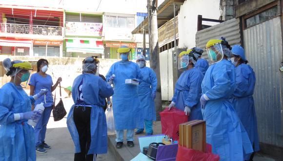 Unos 150 trabajadores de salud laboran en el hospital San Francisco, que es referencial en el Vraem (Foto: Jorge Quispe)