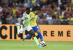 Brasil igualó 1-1 con Nigeria y atraviesa la peor racha con Tité al mando