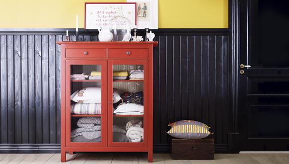 Transforma tu mueble antiguo en un llamativo armario