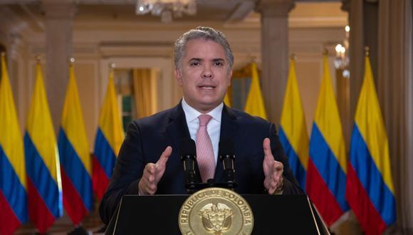 El presidente de Colombia Iván Duque. (EFE/Presidencia de Colombia).