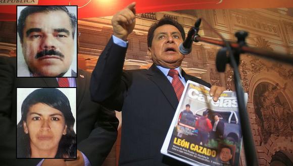 El congresista José León se ha defendido respecto a las acusaciones que lo vinculan con el narco Rodrigo Torres. Pero el testimonio de Lucía Villavicencio lo complica seriamente. (Foto: Lino Chipana)