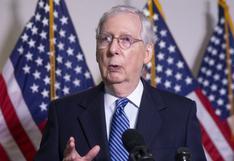 Jefe de Senado de EE.UU. organizará votación si Trump nombra a sucesor de la jueza Ruth Ginsburg