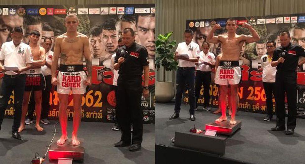Giovanni (izq.) y Gabriel Mazzetti (der.) pasaron el pesaje con éxito y quedaron listos para sus peleas. (Foto: )