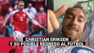 Eriksen se someterá a exámenes médicos para determinar si volverá a jugar fútbol