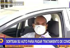 SMP: hombre sortea automóvil para pagar tratamiento de su suegro internado en UCI por COVID-19   VIDEO