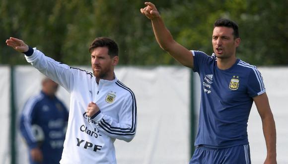 Lionel Scaloni ya está en Argentina para disputar las Eliminatorias (Foto: Agencias)