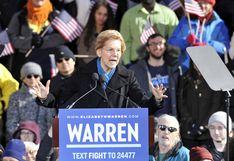 """Elizabeth Warren: """"Para el 2020, puede que Trump ni siquiera sea una persona libre"""""""