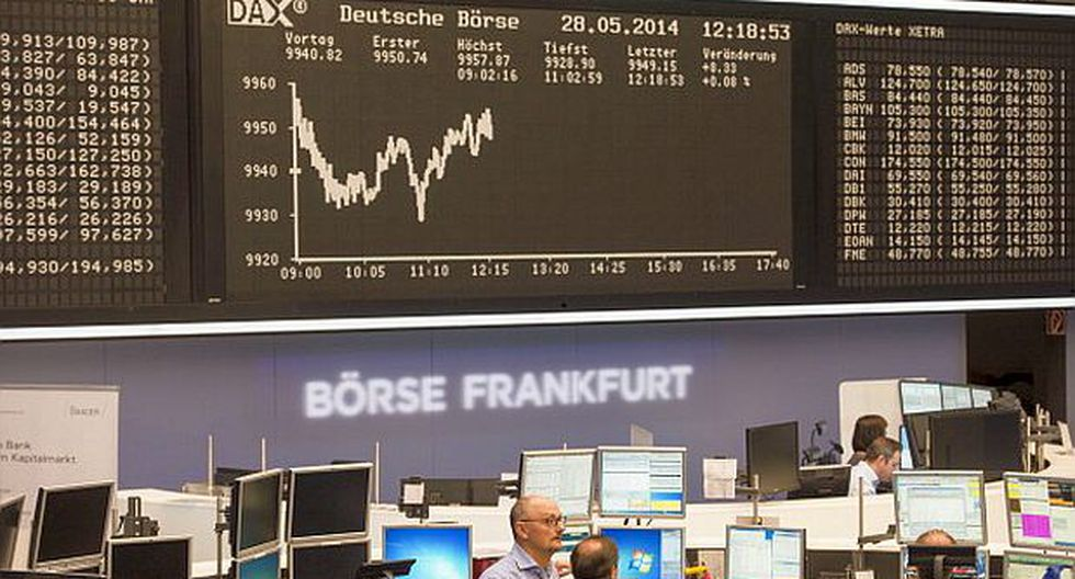 Mercados de Europa concluyen sus operaciones con pérdidas