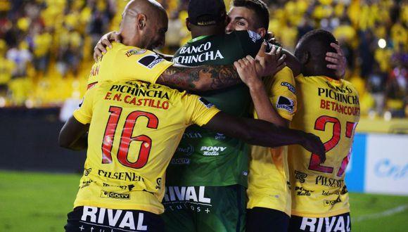 Barcelona logró una importante victoria ante Guayaquil City. (Foto: Twitter)