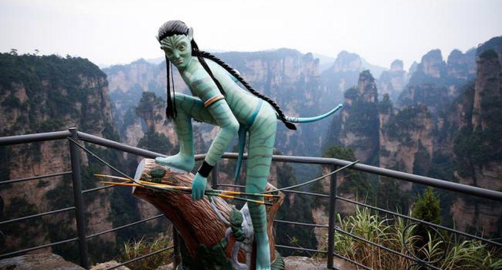 Mundo: 'Pandora' existe: En estas montañas de China se