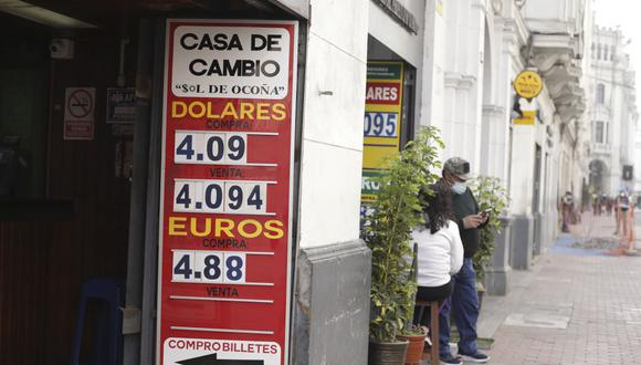El dólar tiene un avance de 13,15% en lo que va del 2021, en comparación al resultado anotado al cierre del año pasado. (Foto: Britanie Arroyo / GEC)