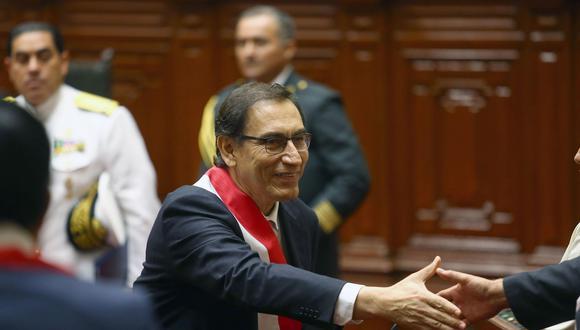 """""""Se van a presentar proyectos como estos, porque el Estado no está dispuesto a pagar sobrecostos"""", declaró Martín Vizcarra. (Foto: EFE)"""