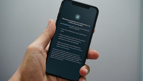 ¿Te ha llegado el mensajes de las nuevas políticas de WhatsApp 2021? Esto debes hacer. (Foto: MAG)