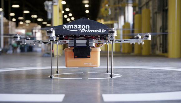 Amazon probará entregas con drones en el Reino Unido
