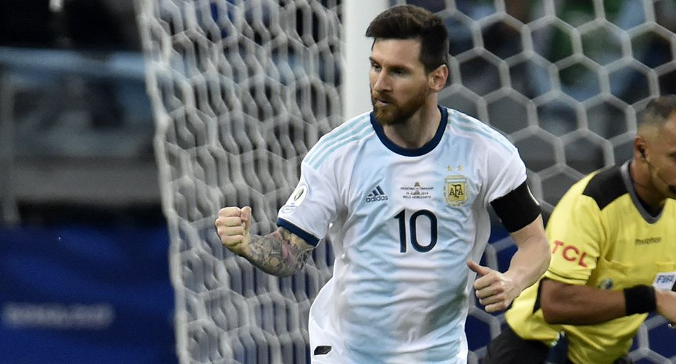 Lionel Messi no se perdió la semifinal Argentina vs. Francia. (Foto. AFP)