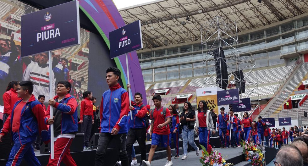 Juegos Deportivos Escolares Nacionales 2019: 3,000 escolares de 20,000 colegios participarán en la final | Foto: Minedu
