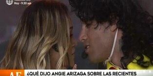 EEG: Angie Arizaga responde así sobre declaraciones de Jota Benz
