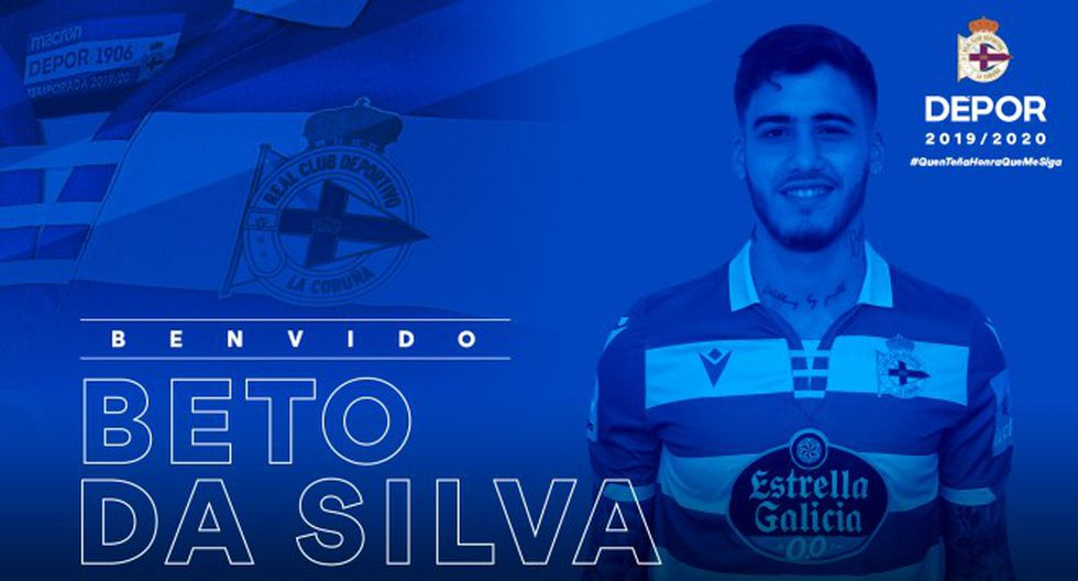 Beto da Silva, nuevo futbolista del Deportivo La Coruña. (Foto: Difusión)