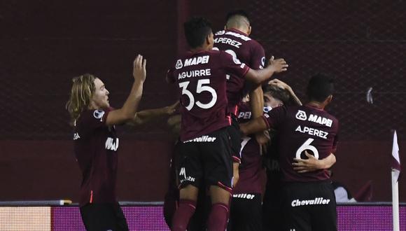 Lanús clasificó a la final de la Copa Sudamericana 2020. Jugará ante Coquimbo Unido o Defensa y Justicia.
