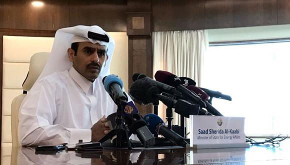 """""""No tenemos mucho potencial (en petróleo), somos realistas"""", dijo el ministro de Energía de Qatar, Saad al-Kaabi, al anunciar la salida del país de la OPEP. (Getty Images vía BBC)"""