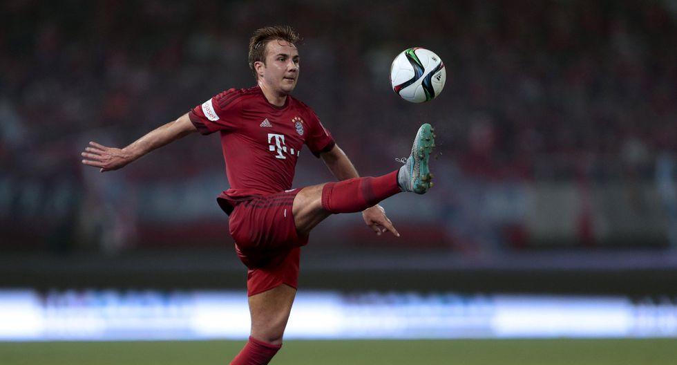 Mario Götze llegó al Bayern Múnich por 37 millones de euros. Foto: agencias