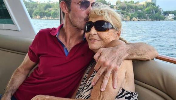 Sandra Vale fue la primera esposa del actor Andrés García. La pareja se casó en 1967 y juntos tuvieron a sus hijos Andrés y Leonardo (Foto: Leonardo García / Instagram)